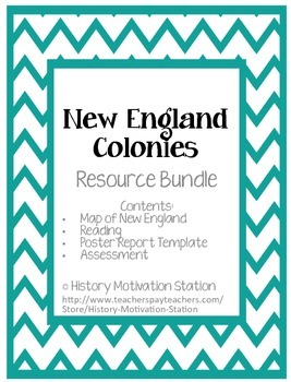 New England Colonies Bundle