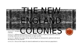 New England Colonies Power Point
