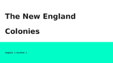 New England Colonies PowerPoint