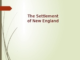 New England Colonies PowerPoint - Distance Learning