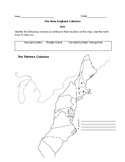 New England Colonies-QUIZ