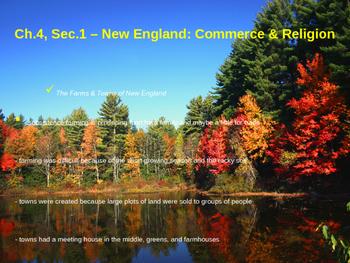 New England Commerce & Religion