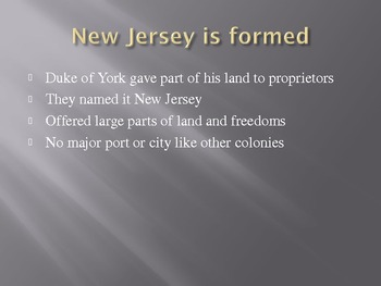New England & Middle Colonies