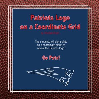 New England Patriots Logo on the Coordinate Plane