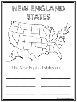 New England State Region Booklet