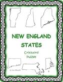 New England States Crossword Puzzles