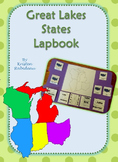 US Geography Great Lakes States Lapbook
