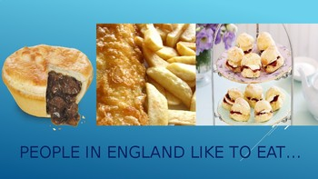 New! England powerpoint with postcard activity