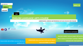 New English Language Arts Skills Course UNIT 4 EVALUATION