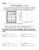 New! Everyday Math 4 5th grade Unit 4 test