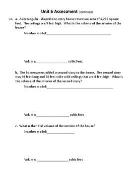 New! Everyday Math 4 5th grade Unit 6 test