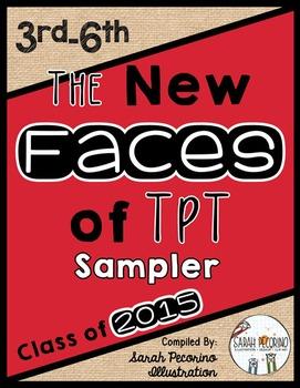 New Faces of TpT: 3rd - 6th Grade Seller Sampler