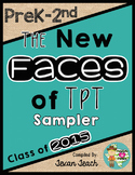 The New Faces of TpT Sampler:  PreK-2nd Grade