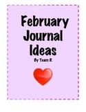 New February Journal Idea Cards