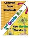 New Florida ELA Standards Compared to CCSS - 2nd Grade
