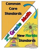 New Florida Math Standards Compared to CCSS - 2nd Grade