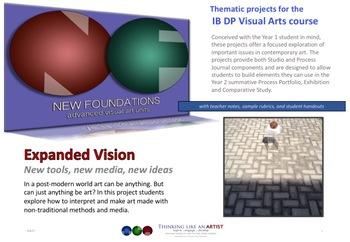 New Foundations Bundle - 7 IB DP Visual Arts projects