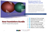 New Foundations Bundle - 7 IB DP Visual Arts projects