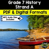 Grade 7 History New France and British North America 1713–1800 Strand A