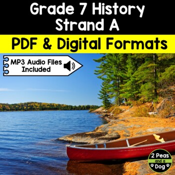 Grade 7 History New France and British North America 1713–1800 Strand A