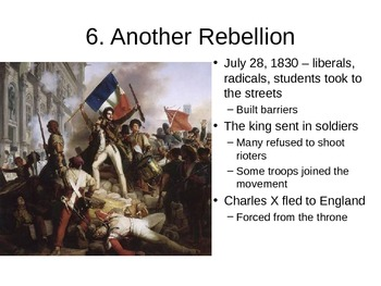 New French Monarchy - 22.4 powerpoint - Revolutions