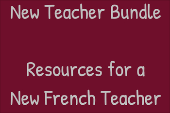 New French Teacher Bundle