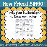 New Friend BINGO!