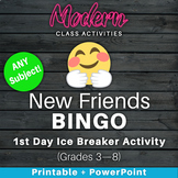 First Day of School Game — New Friends Ice Breaker Activit