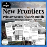 New Frontiers Primary Source Analysis BUNDLED Set CCSS Aligned