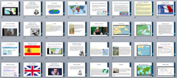 New GSE SS3H2 European Explorers **PERFECT FOR GOOGLE CLASSROOM