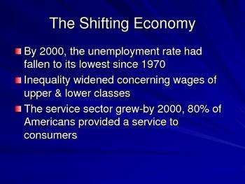 New Global Economy 2000s