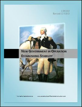 New Government in Operation Establishing Stability Differentiated Lesson
