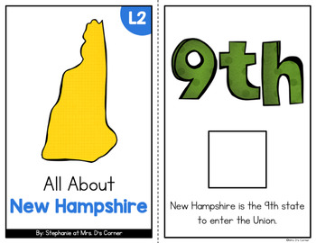 New Hampshire Adapted Books (Level 1 and Level 2) | New Hampshire State Symbols