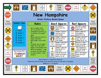 New Hampshire Board Game