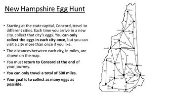 New Hampshire Easter Math Activity