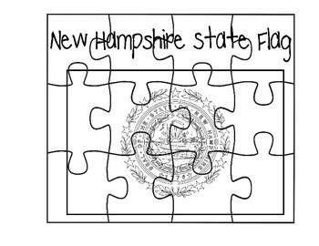 New Hampshire Flag Puzzle