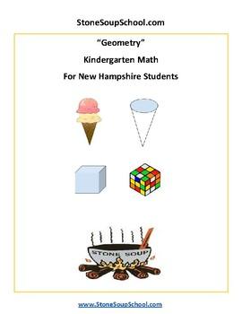 K - New Hampshire - Geometry - Common Core