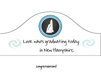 New Hampshire Graduation Hat