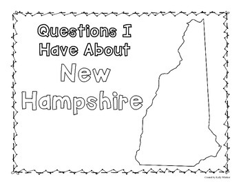 New Hampshire Graphic Organizers (Perfect for KWL charts and geography!)