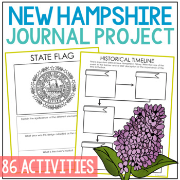 New Hampshire History Guided Research Project, Notebook Journal Pages