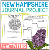 NEW HAMPSHIRE History Guided Research Project, Notebook Jo