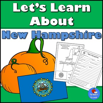 New Hampshire History And Symbols Unit Study By Terbet Lane Tpt