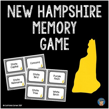 New Hampshire Memory Game