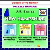 New Hampshire Puzzle BUNDLE - Word Search & Crossword - U.S States - Google