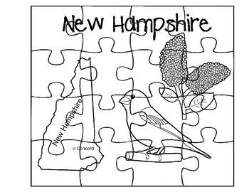 New Hampshire Puzzle Set