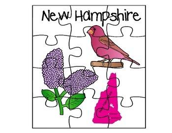 New Hampshire Puzzle Set