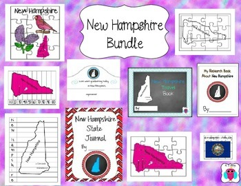 New Hampshire Resource Bundle-10 Resources
