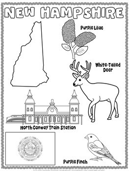 New Hampshire Word Search