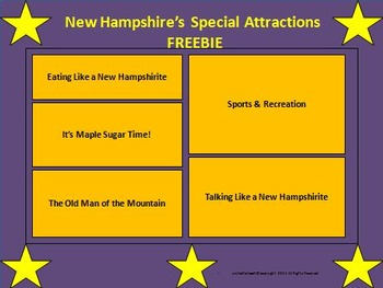 New Hampshire: Special Attractions FREEBIE