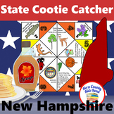 New Hampshire State Facts and Symbols Cootie Catcher Dista